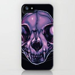 Plum Skull 2 iPhone Case