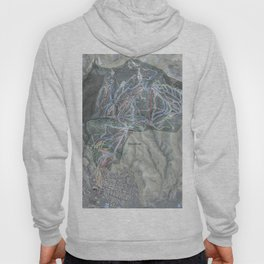 Steamboat Resort Trail Map Hoody