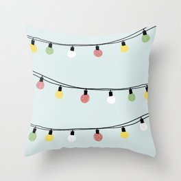 Fiesta and Lampions Throw Pillow
