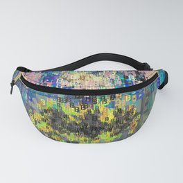Superhero Type Art Comics Bat Fanny Pack