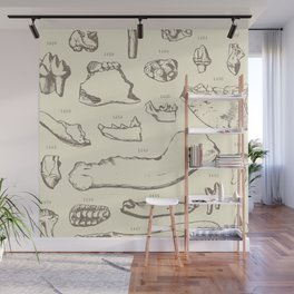 Paleo Dentistry Wall Mural