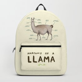 Anatomy of a Llama Backpack