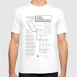 Fenn Treasure Map Infographic T-shirt