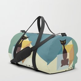 Schrodinger's cat Duffle Bag