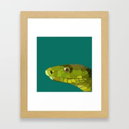 Green Mamba Framed Art Print