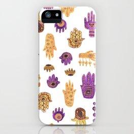 Hamsa Hamsa Hamsa iPhone Case