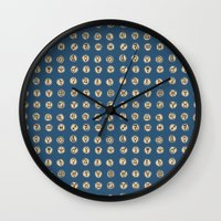 astrology Wall Clocks featuring Astrology 2 by lxcart