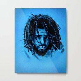 J. Cole Metal Print