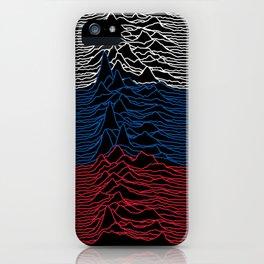 Joy Division - Unknown Russian Pleasures iPhone Case