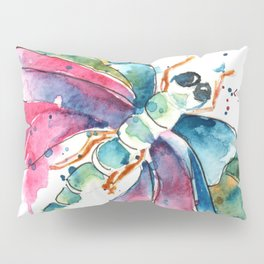 Vibrant Dragonfly Pillow Sham
