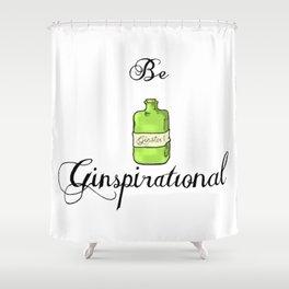 GinSpiration Shower Curtain