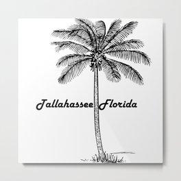 Tallahassee Florida Metal Print
