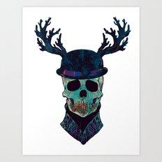 You where so Wild  Art Print