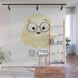 Pop-corn | Popcorn Kernel Father Wall Mural