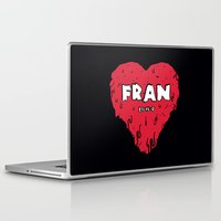 crossfit Laptop & iPad Skins featuring Love Fran by Daniel Thompson