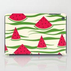 Watermelon pattern . 2 Retro . iPad Case