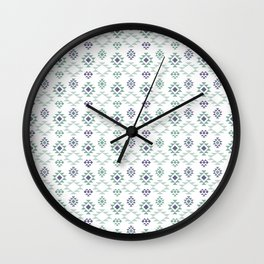 AFE Tribal Pattern Wall Clock