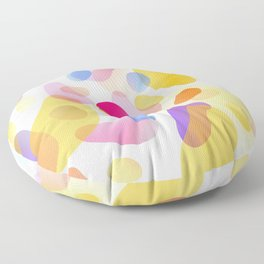 Pattern, wallpaper, forme e colore Floor Pillow