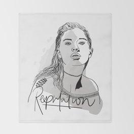 Reputation Throw Blanket
