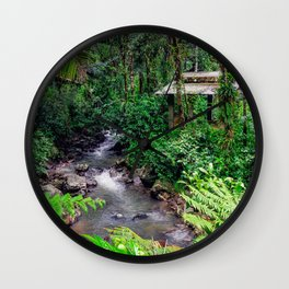 Rainforest Wall Clock