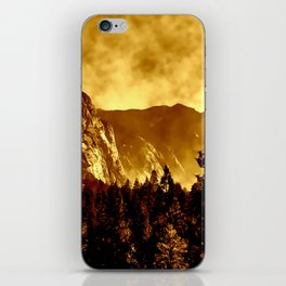 Mountains on Fire in California iPhone Skin