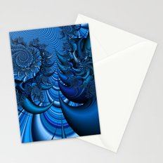 Blue Spike Stationery Cards