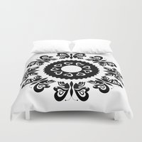 butterflies Duvet Covers featuring Butterflies by BWartwork