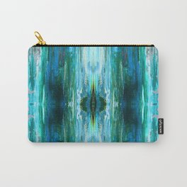 Abstract Ice Pattern Carry-All Pouch