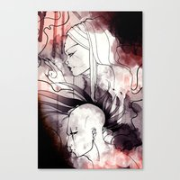 cyberpunk Canvas Prints featuring Cyberpunk by TheTaserMonkey