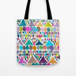 PAINTERLY HILLS TRIBAL Tote Bag