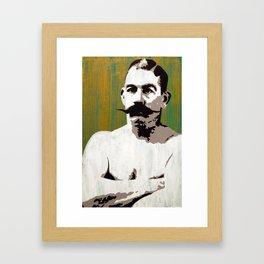 """""""Boston Strong Boy"""" John L. Sullivan Framed Art Print"""