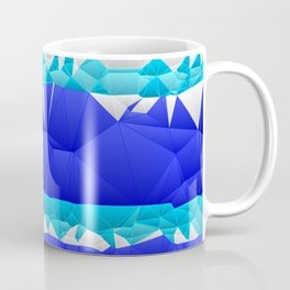 Nautical Inspired Quilted Pattern Design Coffee Mug