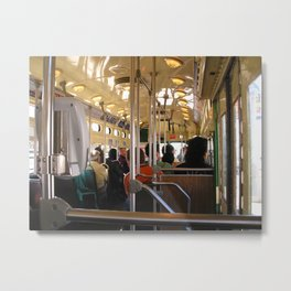San Francisco Trolly Metal Print