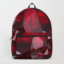 RED GARNET GEMS JANUARY BIRTHSTONE Backpack