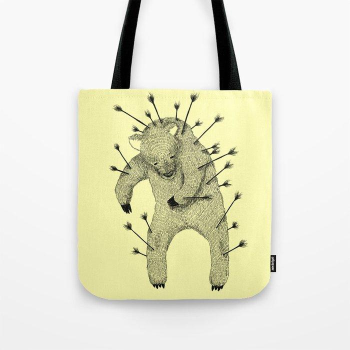 Life and Love (Yellow) Tote Bag