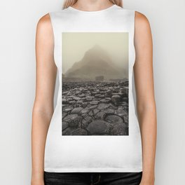 The land of mountains and stones Biker Tank