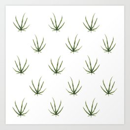 Dainty Leaf Art Print