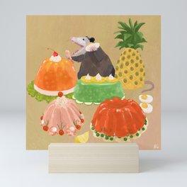 Dinner Party Guest Mini Art Print
