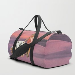 Napping Puppy Duffle Bag