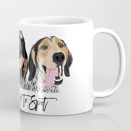 Love is Easy to Spot Bluetick Coonhound Coffee Mug