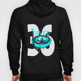 Scuba Diving 36th Birthday Diver 36 Years Gift Hoody