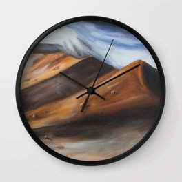 Namib Desert Wall Clock
