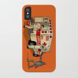 Robot Robbers iPhone Case