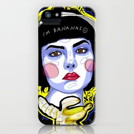 I'm Bananas  iPhone Case
