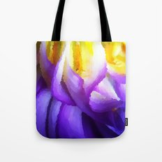 Dahlia One - The Painted Tote Bag