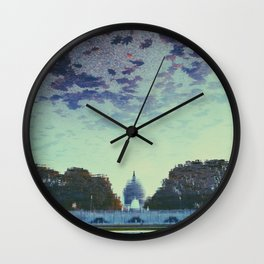 Reflecting On the Capital Wall Clock