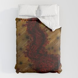 Fatal Stain of a Bureaucrat Comforters
