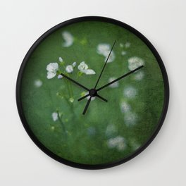 Little Blooms Wall Clock