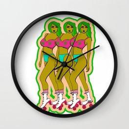 TRIPLE DELIGHT Wall Clock