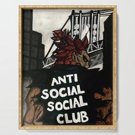 Akuma Anti Social Social Club Serving Tray